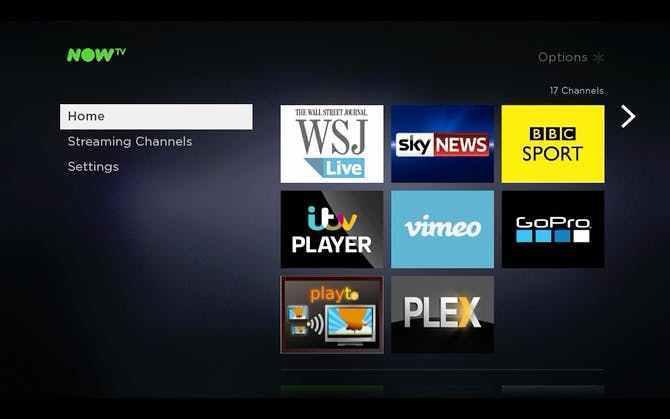 IPTV sur Now TV Box