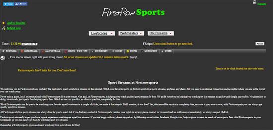 Sites de streaming sportifs